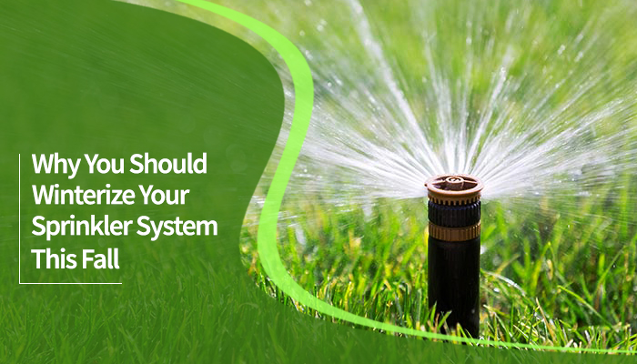 Why You Should Winterize Your Sprinkler System This Fall