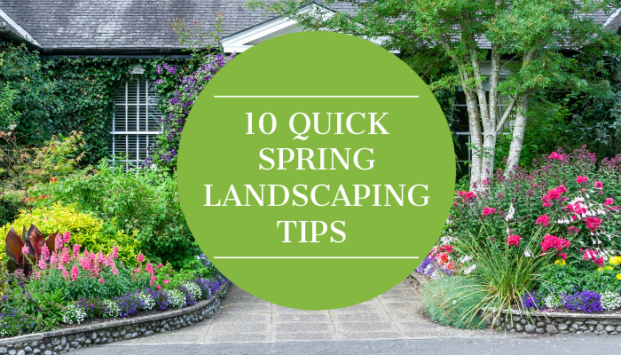 10 Quick Spring Landscaping Tips
